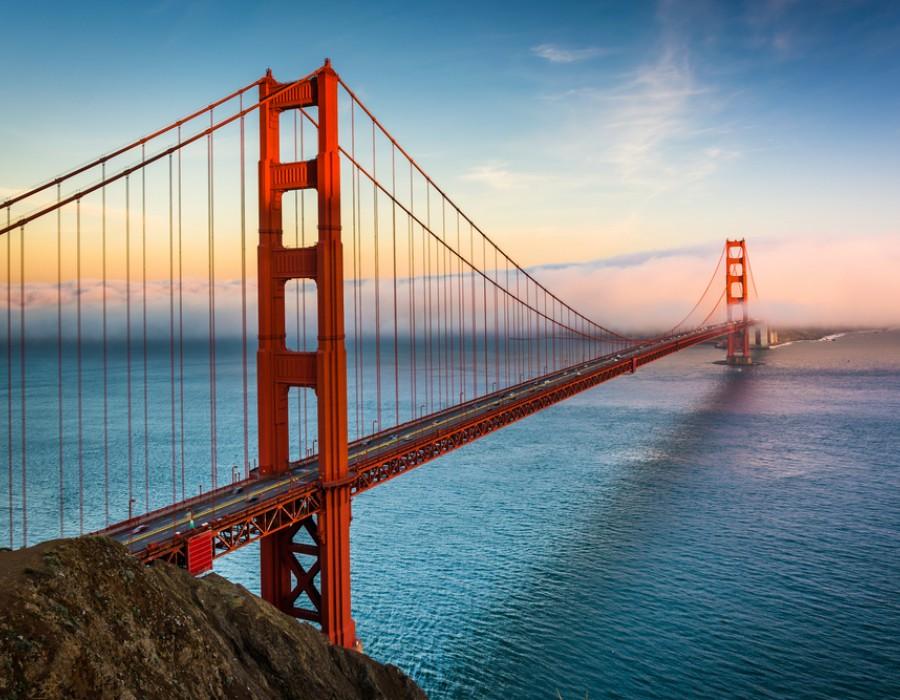 Tour in auto da Los Angeles a San Francisco & Bora Bora