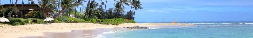 aston islander on the beach